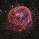 Henize 70, super bulle dans le Grand Nuage de Magellan,                                Remi MERE