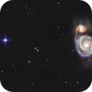 M51 - The Whirlpool Galaxy,                                Barry E.
