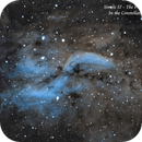 Simeis 57 - The Propeller Nebula  OHS,                                Paul Borchardt
