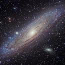 M31 Andromeda Galaxy,                                Nik Szymanek