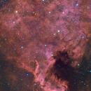 NGC 7000 HaLRGB North America Nebula,                                Themis Karteris