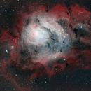 M8 Lagoon Nebula,                                Anne-Maree McComb
