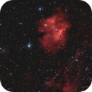 Sharpless 135 and NGC 7261 in Cepheus,                                Jim Thommes