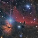 Horsehead and Flame Nebulae,                                Corrado Gamberoni