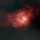 M8 Lagoon Nebula - Starless,                                Mr. Ashley McGlone