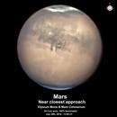 Mars near closest approach,                                  Niall MacNeill