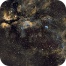 Cygnus Widefield -Hubble Palette SHO,                                Matthias Steiner