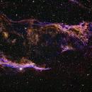Western Veil Nebula,                                Patrick Hsieh