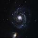 whirlpool galaxy,                                andyo