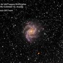 Supernova 2017eaw in Fireworks Galazy,                                PepeLopez