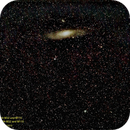 Widefield of Andromeda Galaxy M 31,                                Hans-Peter Olschewski