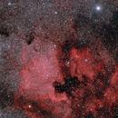 Nebulosa Norteamerica y Pelicano,                                J_Pelaez_aab