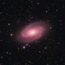 M81 Bode's Galaxy in LRGBHa,                                Mathias Radl