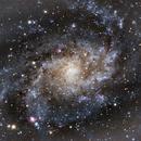Triangulum Galaxy (M33),                                  Guillaume Cullet