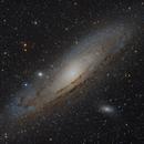 M31 - Andromeda Galaxy,                                Murat SANA