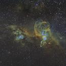 NGC 3576,                                Toshiya Arai
