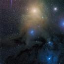 Antares and Rho Ophiuchi complex,                                  andrealuna