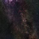 A glimpse of the Milky Way (mosaic),                                Geert Vanden Broeck