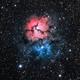 M20 - Nébuleuse Trifide - LRGB,                                BLANCHARD Jordan