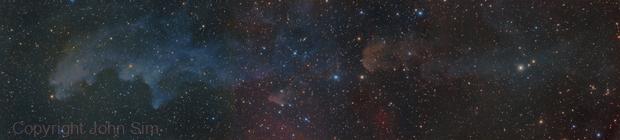 The Witch Head Nebula,                                John Sim