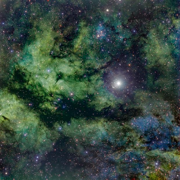 IC 1318 (Narrow Band, SHO),                                Miles Zhou