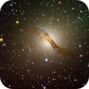Centaurus A in RGB,                                Ian Parr