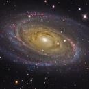M81 - 3 telescope combination,                                Matt Proulx
