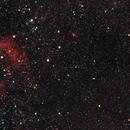 Near IC1805 (heart nebula) Maffei I, II and III / Canon 600D + SW 80ED PRO / SW EQ-M35 / 800ISO,                                patrick cartou