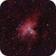 M16 Eagle Nebula with 1000mm F/5 Newton and Canon EOS 600Da,                                Norbert Reuschl