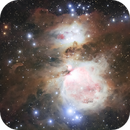 Messier 42 - Orion-nebula,                                Rafael Schmall