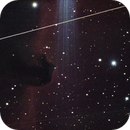 Satellites Passing By the Horsehead Nebula,                                Corey Rueckheim
