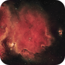 The Burning Heart of the Soul Nebula (IC 1848 + IC 1871),                                pete_xl