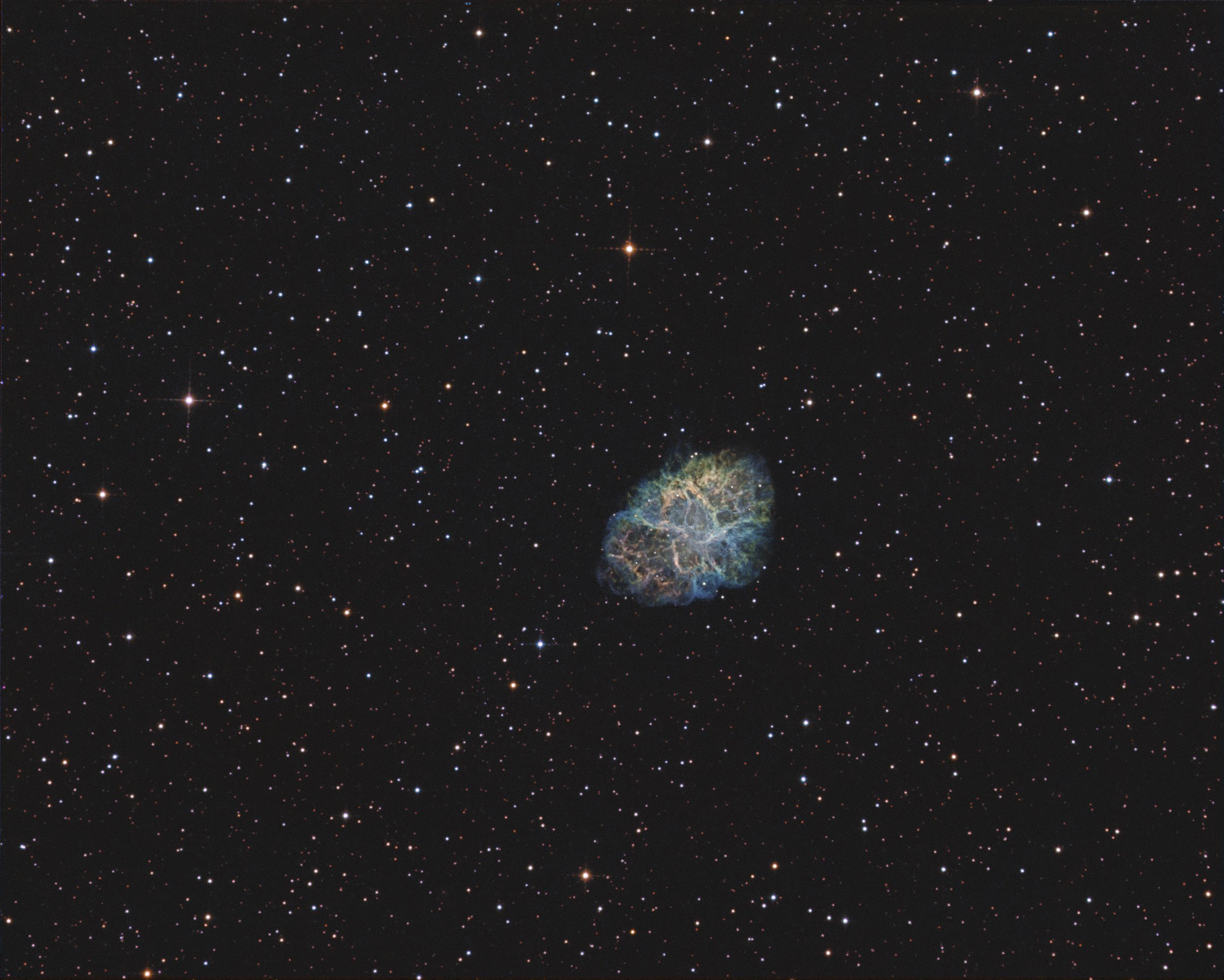 M1  T250 f/4  /  ATIK ONE  /  AZEQ6,                                Pulsar59