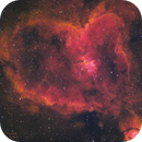 IC1805 - Heart Nebula in HSO,                                Kyle Pickett