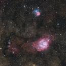 M8 & M20 Lagoon & Trifid Nebula,                                Gebhard Maurer