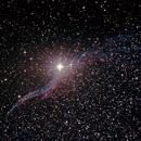 Caldwell 34 - NGC6960 - Western Veil or Witch's Broom Nebula Supernova remnant,                                Geoff Scott