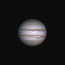 Jupiter du 8 avril 2015 à 21h59 GMT (C8 et Barlow 2x),                                Laurent3112