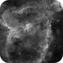 IC 1805, The Heart Nebula, H-alpha, First Light for the TMB 92ss,                                Eric Coles (coles44)