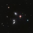 NGC 5350 - NGC 5353 - NGC 5354 - NGC 5355 - NGC 5358 (Hickson 68) and NGC 5371,                                Uwe Deutermann