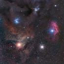 Nebulae around Antares,                                Tragoolchitr Jittasaiyapan