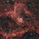 Heart Nebula (IC 1805),                                pade