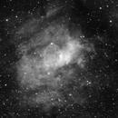 bubble nebula,                                Blue Moon Observa...
