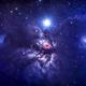 Flame nebula,                                droe