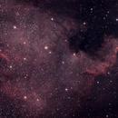 NGC 7000 - The North American Nebula,                                ThatsNoMoon