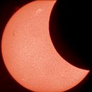 Partial solar eclipse 2021,                                Dennis Lehtonen