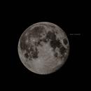 Moon with Apollo 11 Landing Site,                                  Michael Feigenbaum