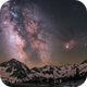 Milky way on the Néouvielle mountains (2200m),                                Maxime Tessier