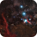 The Stars of Orion - 35 Panel Mosaic,                                Matt Harbison