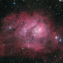 Messier 8,                                simon harding