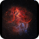 Lion Nebula SH2-132 HaOiii,                                Göran Nilsson